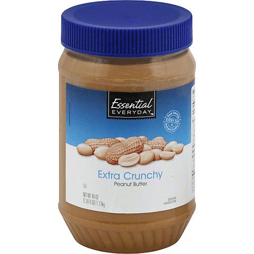 Essential Everyday Peanut Butter, Extra Crunchy