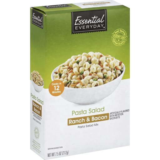 Essential Everyday Pasta Salad Mix, Ranch & Bacon