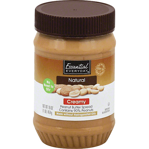 Essential Everyday Peanut Butter Spread, Creamy