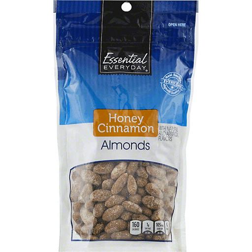 Essential Everyday Almonds, Honey Cinnamon