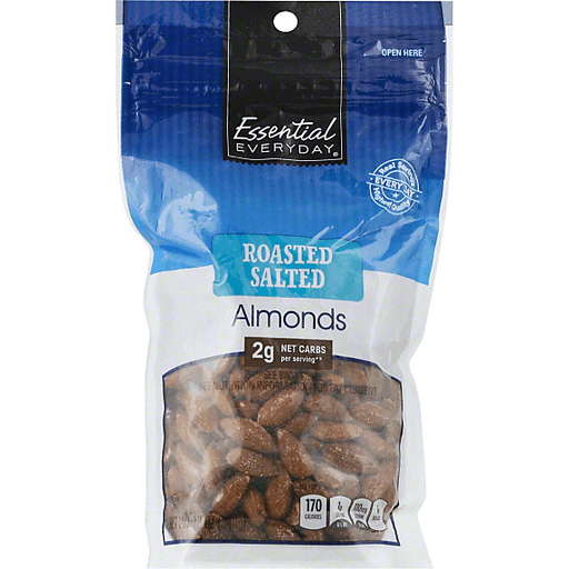 Essential Everyday Almonds, Roasted Salted