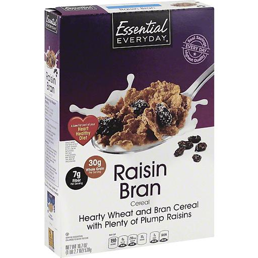 Essential Everyday Cereal, Raisin Bran