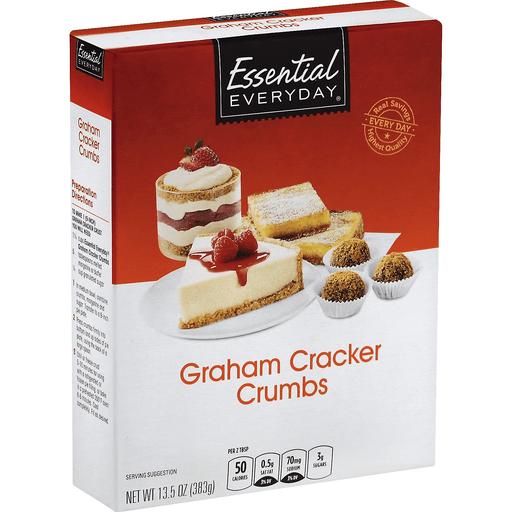 Essential Everyday Graham Cracker Crumbs