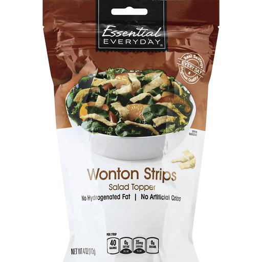 Essential Everyday Salad Topper, Wonton Strips