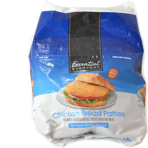 Essential Everyday Chicken Breast Patties