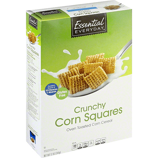 Essential Everyday Cereal, Crunchy Corn Squares
