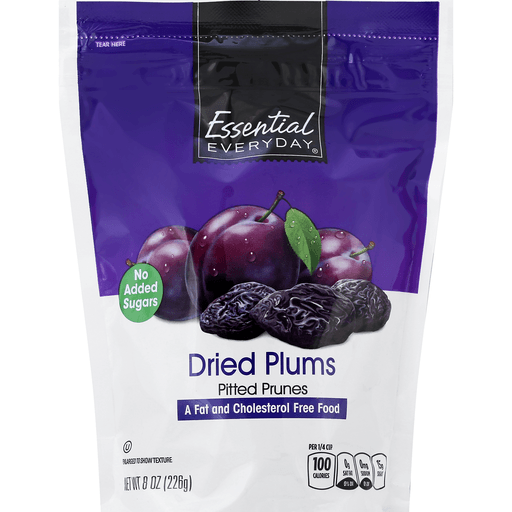Essential Everyday Plums, Dried