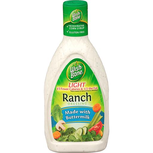 Wishbone Dressing, Light, Ranch