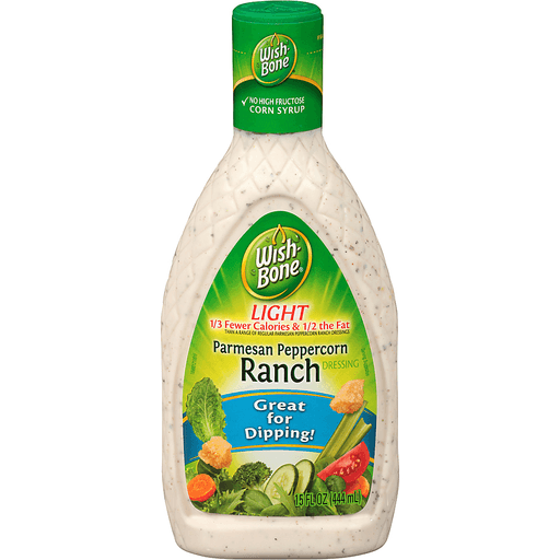 Wish-Bone Light Parmesan Peppercorn Ranch Dressing