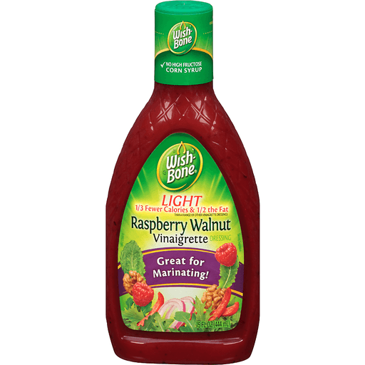 Wishbone Dressing, Light, Raspberry Walnut Vinaigrette