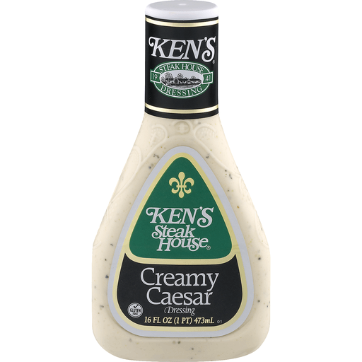 Kens Steak House Dressing, Creamy Caesar