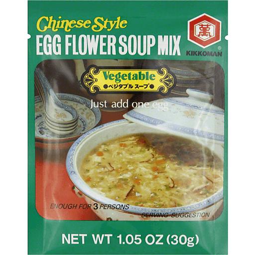 Kikkoman Egg Flower Soup-Vegetable