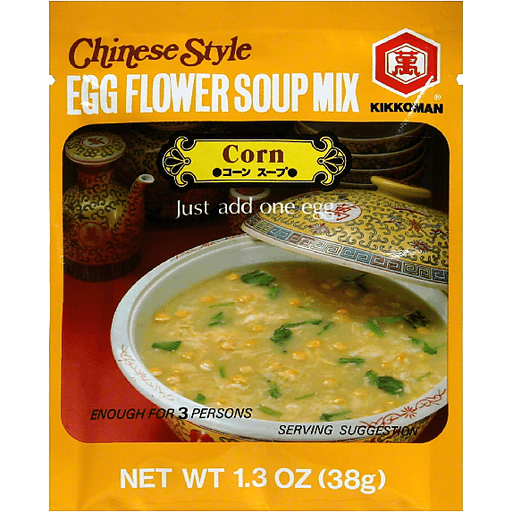 Kikkoman Egg Flower Soup - Corn