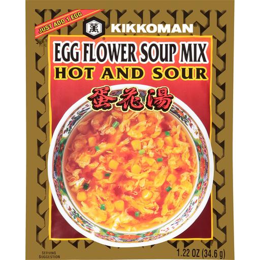 Kikkoman Egg Flower Soup Mix Szechwan