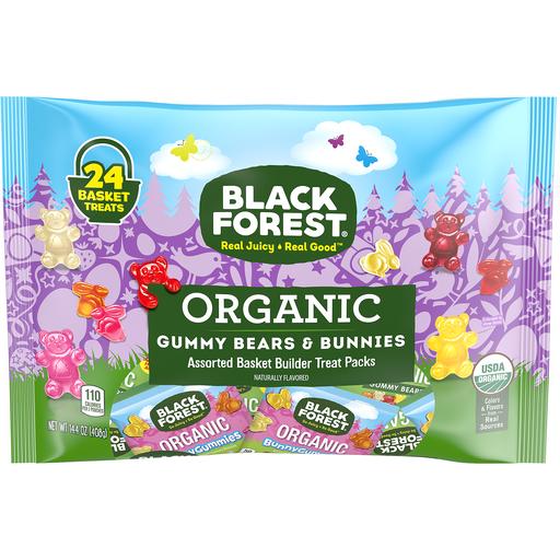 Black Forest Org Gummy Bears & Bunnies