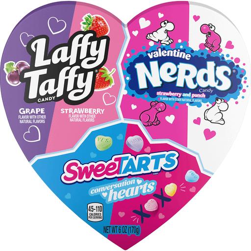 Brachs 3 Assorted Candy Heart Box