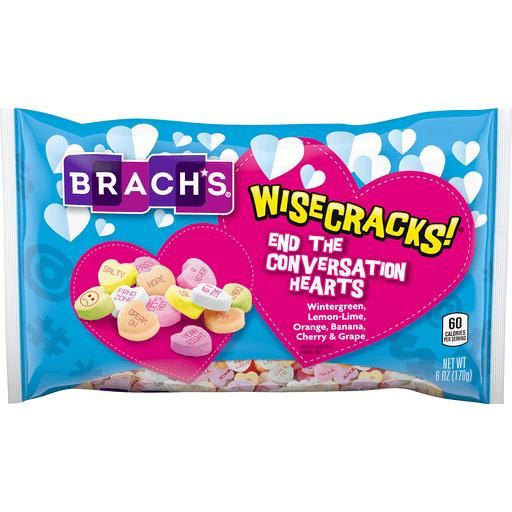 Brachs Wisecracks End Conversation Hearts