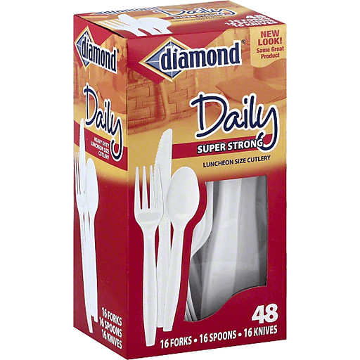 Diamond Daily Cutlery, Super Strong