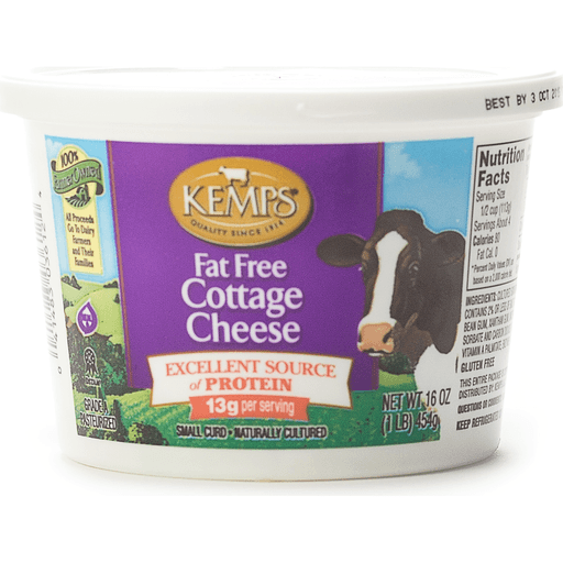 Kemps Fat Free Cottage Cheese