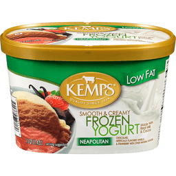 Kemps Low Fat Neapolitan Frozen Yogurt