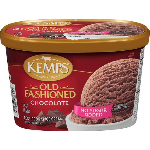 Kemps® No Sugar Added Old Fashioned Chocolate Reduced Fat Ice Cream 1.5 qt. Tub