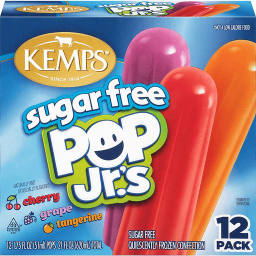Kemps® Sugar Free Pop Jr.'s Quiescently Frozen Confection 12-1.75 fl. oz. Pops