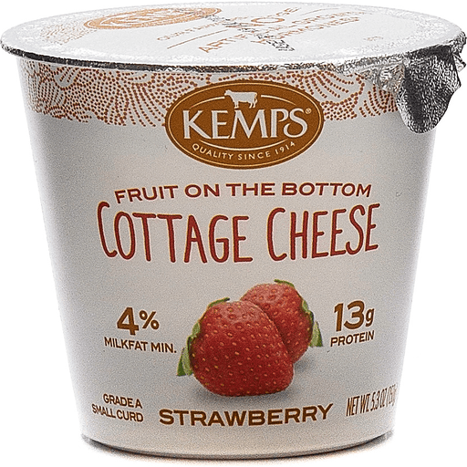 Kemps Strwberry Cottage Cheese