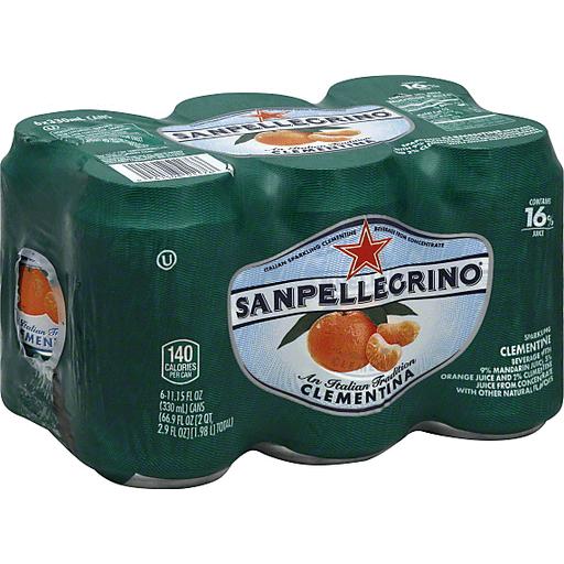 San Pellegrino Sparkling Beverage 6