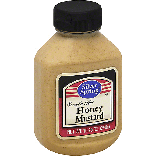 Silver Spring Mustard, Honey, Sweet'n Hot