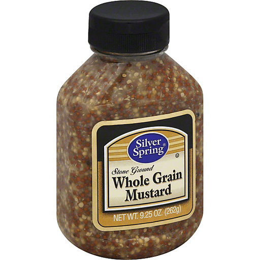 Silver Spring Mustard, Whole Grain, Stone Ground