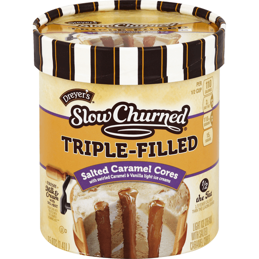 Dreyers Slow Churned Ice Cream, Light