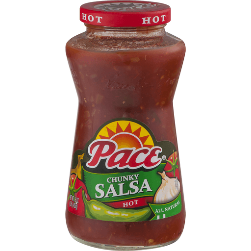 Pace® Thick & Chunky Salsa Hot, 16 oz.