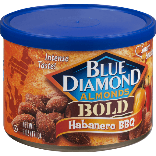 Blue Diamond Bold Almonds, Habanero BBQ