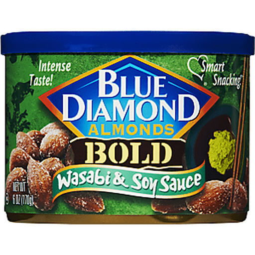 Blue Diamond Bold Almonds, Wasabi & Soy Sauce