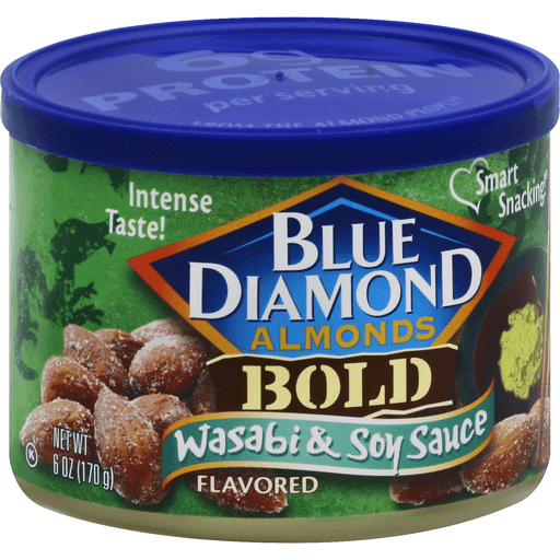 Almonds, Wasabi & Soy Sauce Flavored