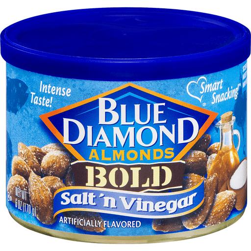 Blue Diamond Almonds, Bold, Salt 'n Vinegar