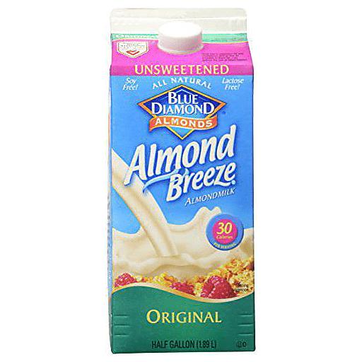 Almond Breeze Almond Milk, Unsweetened