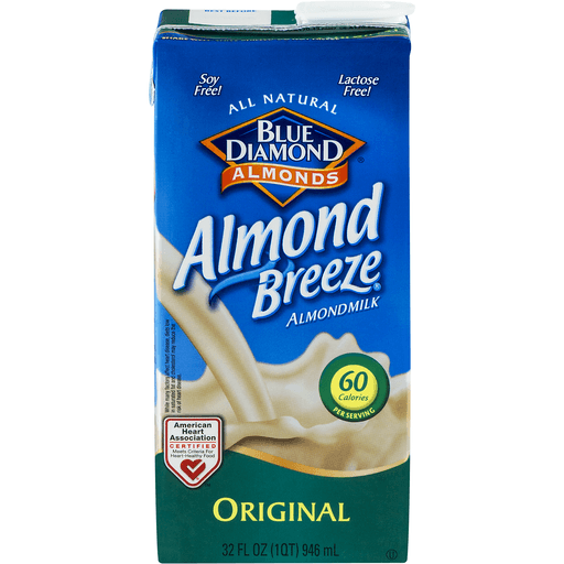 Blue Diamond Almond Breeze Almondmilk, Original