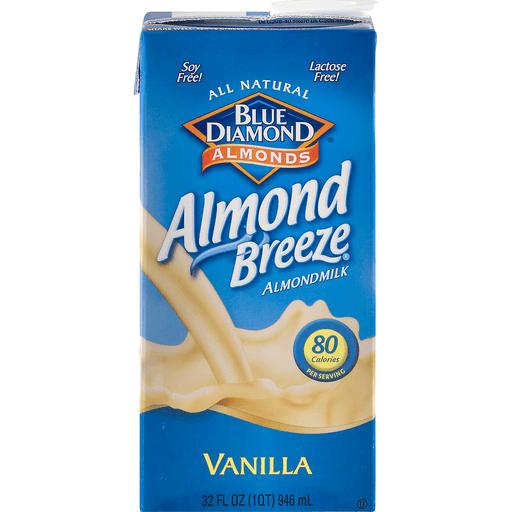 Blue Diamond Almond Breeze Almondmilk, Vanilla