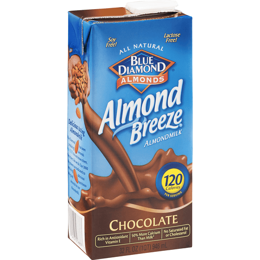 Blue Diamond Almond Breeze Almondmilk, Chocolate