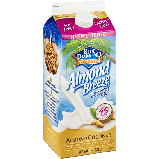 Blue Diamond Almond Breeze Almondmilk Coconutmilk Blend, Unsweetened