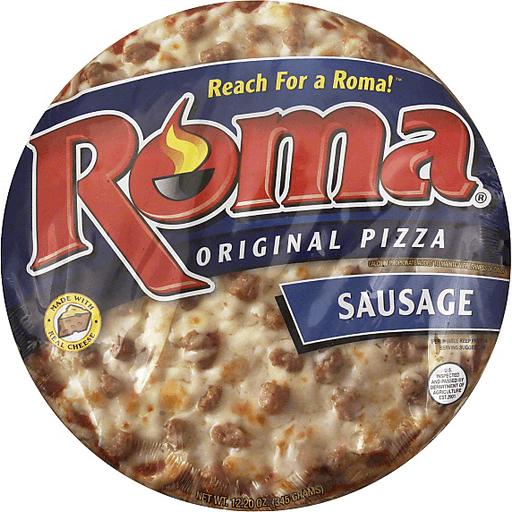 Roma Pizza, Original, Sausage, 11 Inch