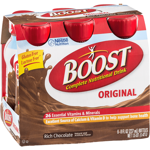 Boost Nutritional Drink, Complete, Original, Chocolate Sensation
