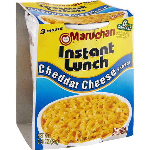 Maruchan Instant Lunch Ramen Noodles, Cheddar Cheese Flavor