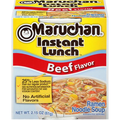 Maruchan Ramen Noodles Soup Beef