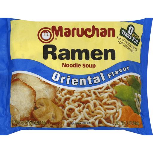 Maruchan Soup Ramen Noodle Oriental Flavor Asian Rice Noodles Sun Fresh