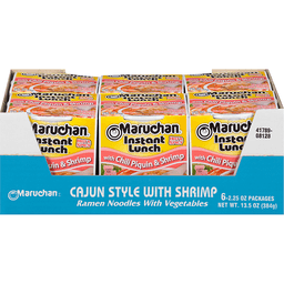 Maruchan Instant Lunch Hot Spicy With Chili Piquin Shrimp Ramen