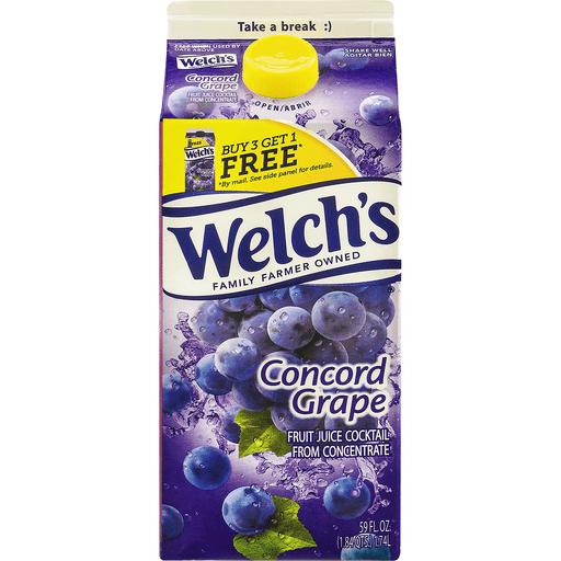 Welchs Fruit Juice Cocktail, Concord Grape