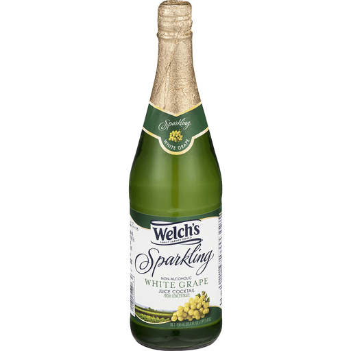 Welch's Sparkling Non-Alcoholic Juice Cocktail White Grape
