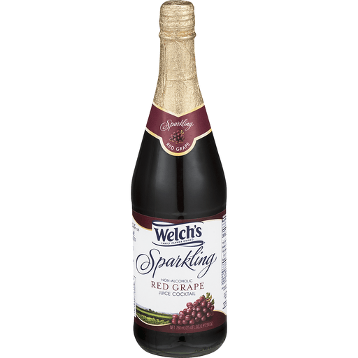 Welch's Sparkling Non-Alcoholic Juice Cocktail Red Grape